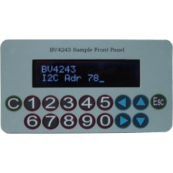 I2C Keypad Front Panel for 16x2 LCD Display