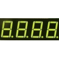 Serial 7 Segment LED Display YELLOW