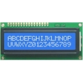 LCD 16x2 White on Blue