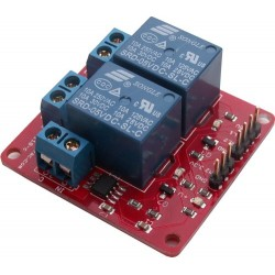 Twin 10A Relay with Current Sensing