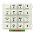 Small White Keypad 4x4