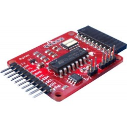 I2C and Serial Microstepping and DC Motor Controller 1.2A