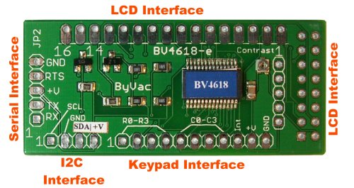 Serial LCD back pack - Phi-panel - Liudr arduino and